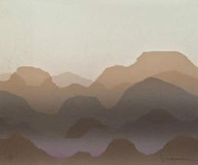 Jack Duggan Abstract Print - Mountain View