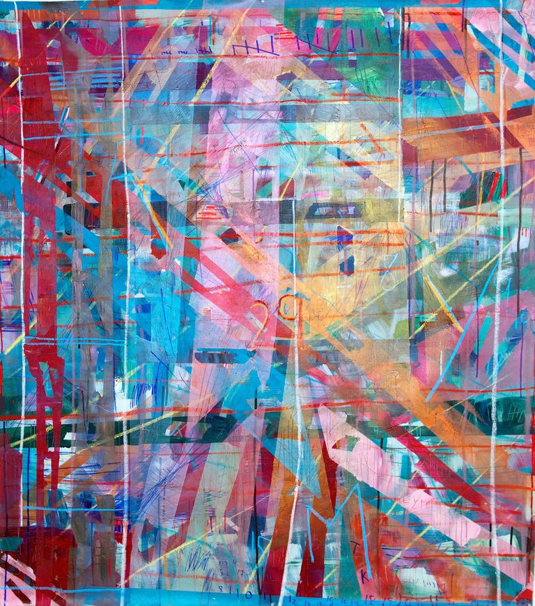 Duration - Mixed Media Art by Meghan Hedley