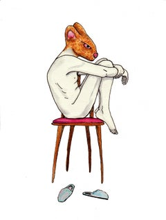 """Chair II, from the """"Nagual: the animal within"""" series"""