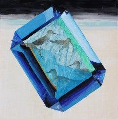Hestia' Baguette-cut Blue Topaz