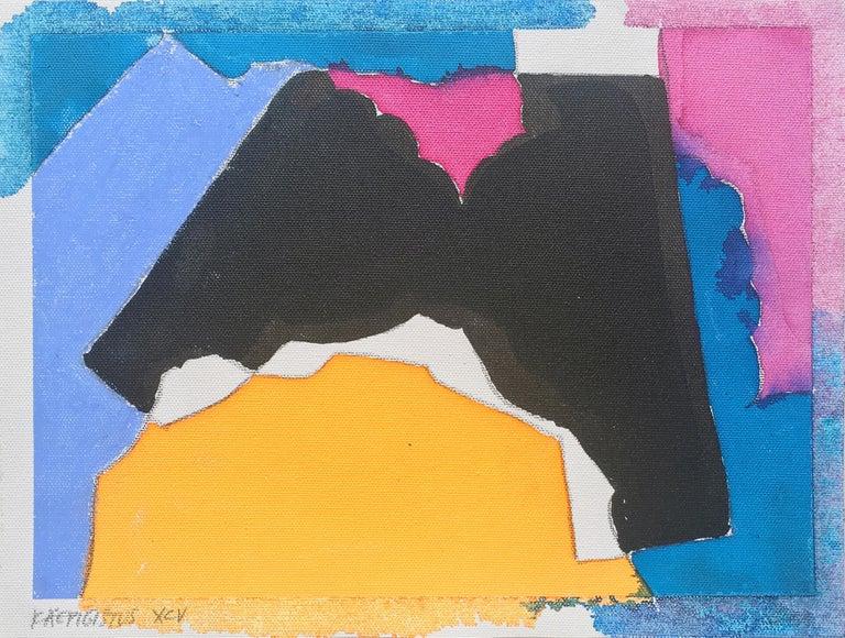 Juri Koll Abstract Painting - Käepigistus XCV
