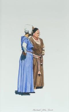 The Gossips by Michael John Hunt