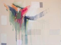 Missing Pieces by Rebecca Stern, abstract expressionism, mixed media