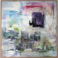 Cassiber, Mixed-media by Stefan Heyer, German Abstract Expressionism Artwork
