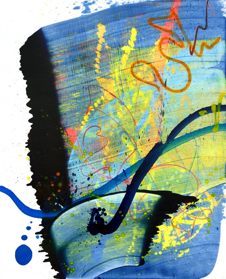 Cross-section of the moment 33, Seungyoon Choi, Abstract Expressionism, Oil Art - Painting by Seungyoon Choi