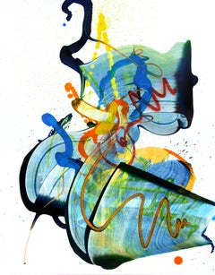 Cross-section of the moment 15 by Seungyoon Choi, abstract expressionism