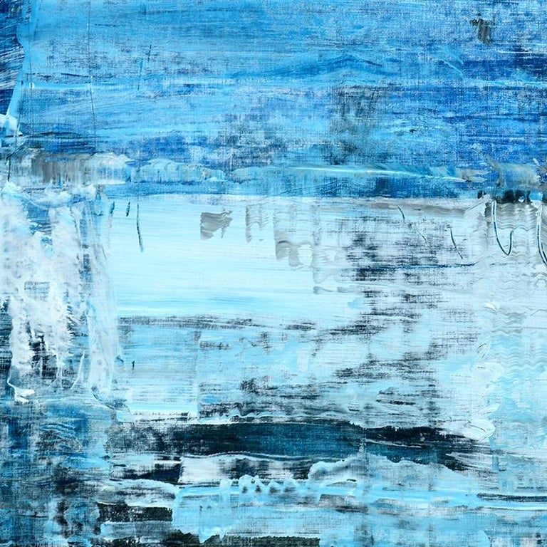 'Memories' by Rolando Duartes, abstract painting, acrylic on board For Sale 2