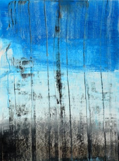 'Tale' by Rolando Duartes, abstract painting, acrylic on board