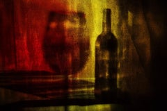 The Only Guest, Vitalii Ledokollov, Abstract Print, Color Photography, Red Brown