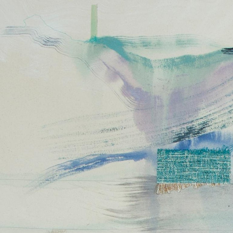 'Simple Exchanges' by Rebecca Stern, abstract expressionism, mixed media For Sale 1