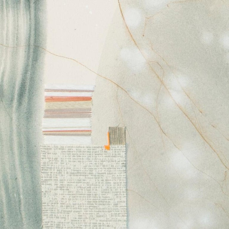 Self Contained I, Rebecca Stern, Contemporary Abstract Mixed Media, Collage For Sale 1