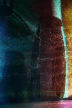 Farewell, Vitalii Ledokollov, Abstract Color Photography Print, Brown, Purple