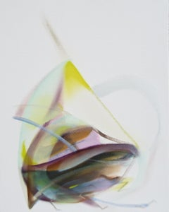 'Spirit' by Naomi Yuki, abstract expressionism, oil on canvas