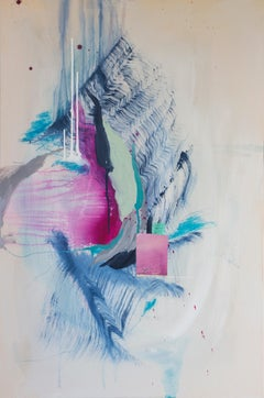 'One in the same' by Rebecca Stern, abstract expressionism, mixed media
