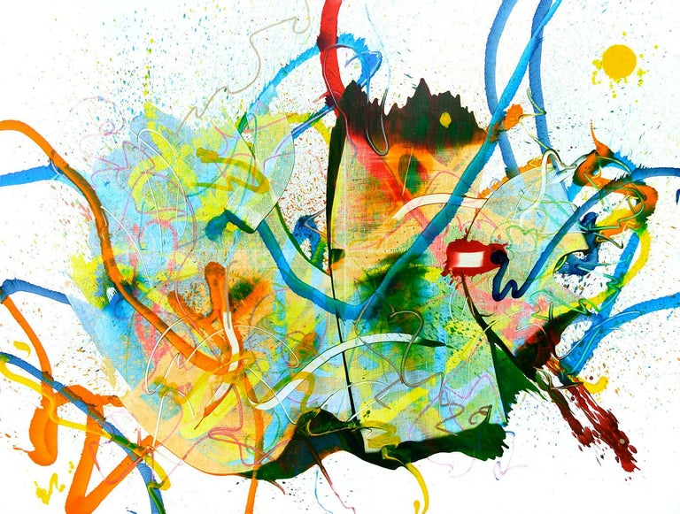 Seungyoon Choi Abstract Painting - Cross-section of the moment 10, S. Choi, Abstract Expressionism, Large, Oil Art