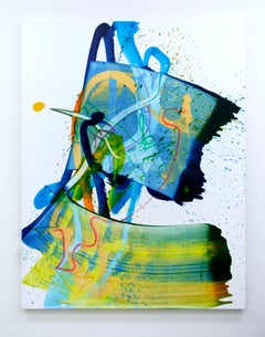 Cross-section of the moment 1 by S. Choi, abstract expressionism, fauvism