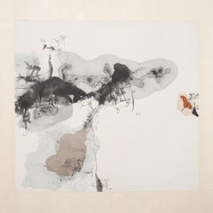 Dream 2, Contemporary Abstract Chinese Art Drawing Painting Ink Paper Black