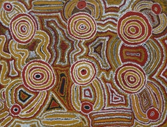 Australian Aboriginal Art by Donkeyman Lee Tjupurrula