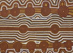 'Tingari' Australian Aboriginal Art by Uta Uta Tjangala