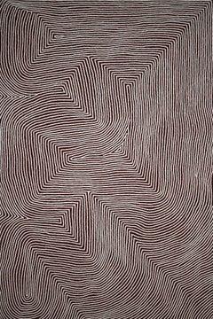 'Tingari' Australian Aboriginal Art by Warlimpirrnga Tjapaltjarri