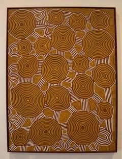 'Tingari Dreaming at Walla Walla' Australian Aboriginal Art by Anitjari