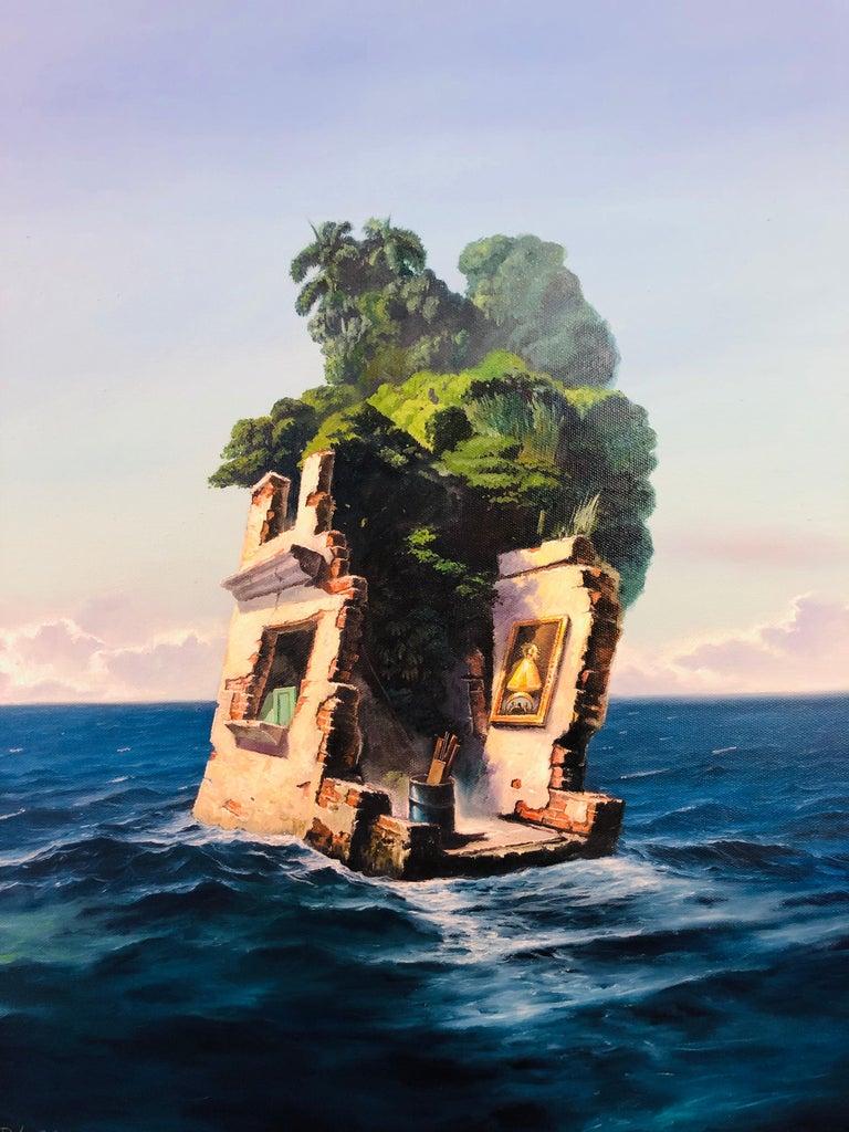 A Cuban Painting - Mixed Media Art by Piki Mendizabal