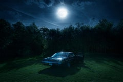 Chevy Under Moon