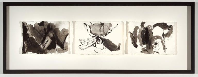 Anastasia Pelias Abstract Drawing - Quarantine Drawings 10, 4, 3