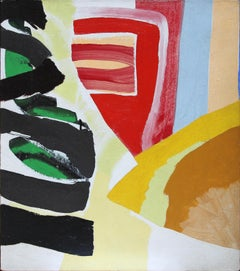 Ernest Briggs, Mask, acrylic on canvas, 1965