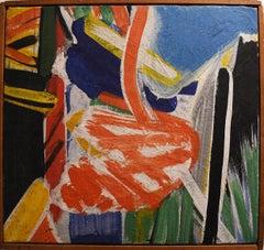 Ernest Briggs, Summerscape, oil on canvas, 1962