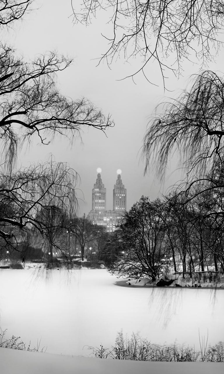 Jeff Chien-Hsing Liao Winter Solstice, 2015 Archival Pigment Print 66 x 40 inches Edition of 6  This photograph is from Liao's series, Central Park New York - 24 Solar Terms.  The title of the series takes its name from the ancient Chinese lunar