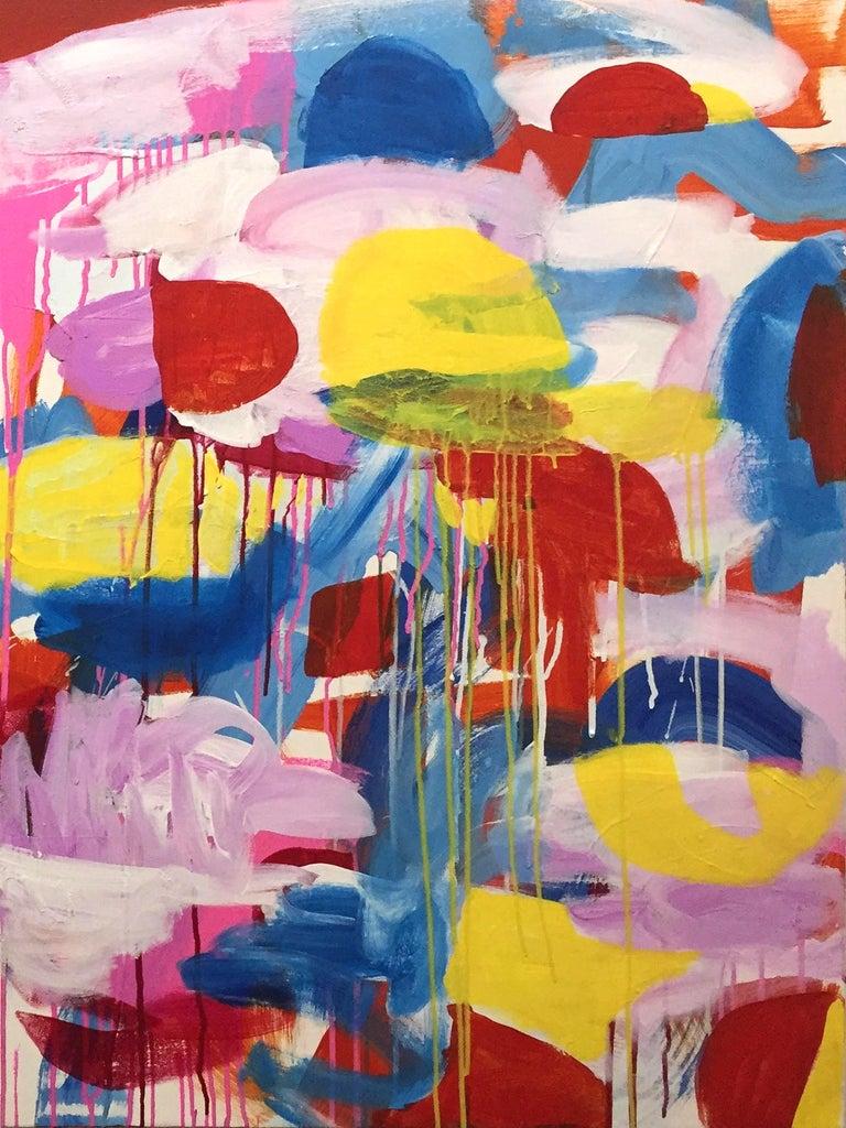 Esteban Ocampo-Giraldo Abstract Painting - Untitled