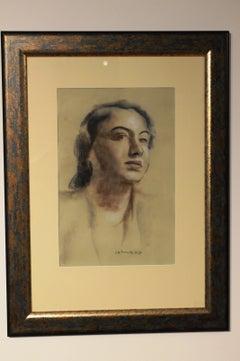 Ladys portrait