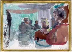 Interior Scene with Figures