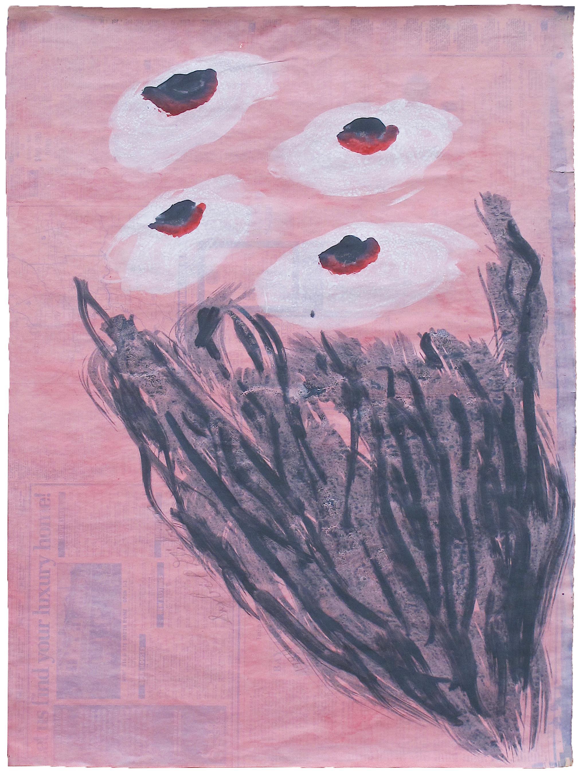 Medium Drawings and Watercolor Paintings