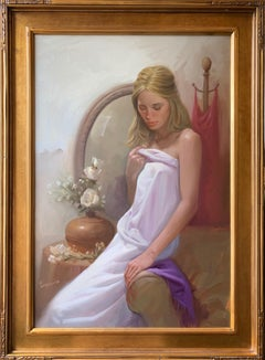 "John Ennis, ""Rebecca"", Oil on Canvas"