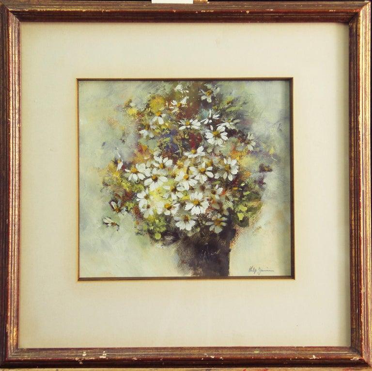 Phillip Duane Jamison, Floral Still Life, Watercolor, Signed - Art by Phillip Duane Jamison
