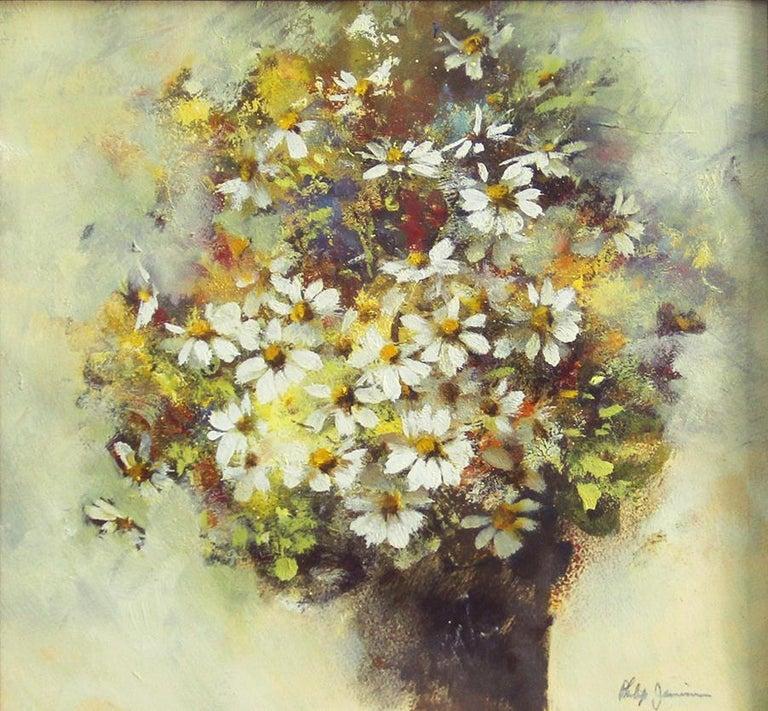Phillip Duane Jamison, Floral Still Life, Watercolor, Signed - American Impressionist Art by Phillip Duane Jamison