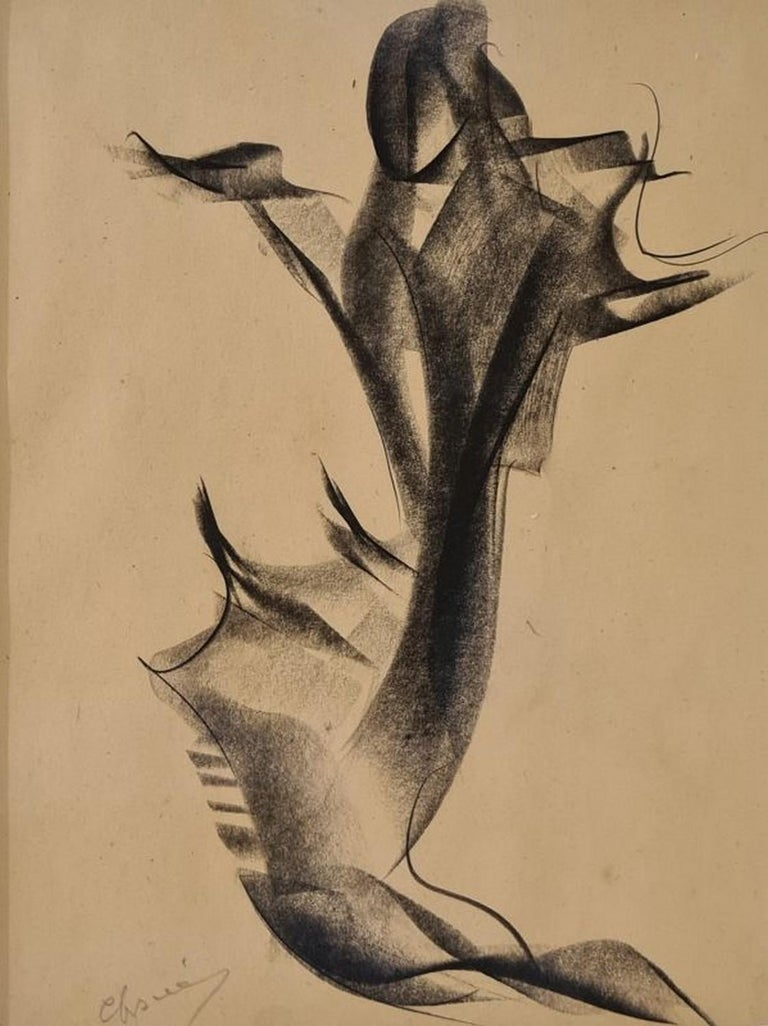 Jean Chauvin Abstract Drawing - No title