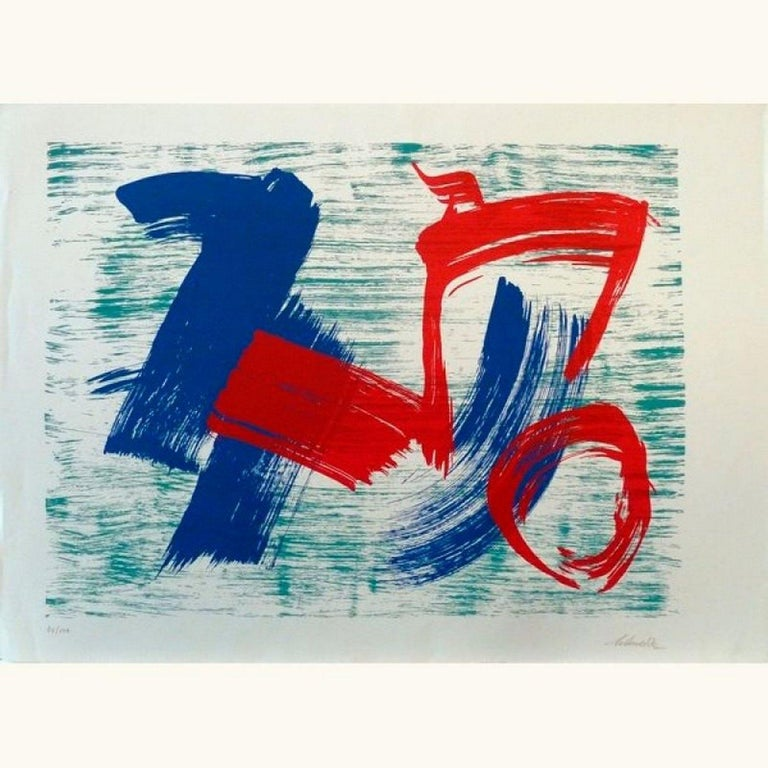Gerard Schneider Abstract Drawing - No title