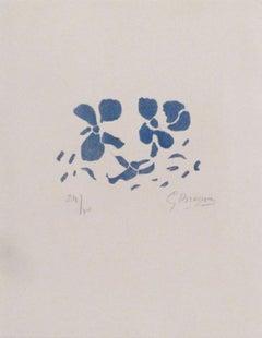 """Fleurs bleues """"Si je mourais là-bas"""""""