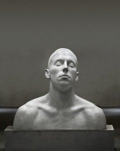 The Swimmer - Modern, 21st Century, Figurative Sculpture