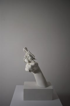 Bullet to your heart, 21st century, modern, weapon, colt, sculpture, object