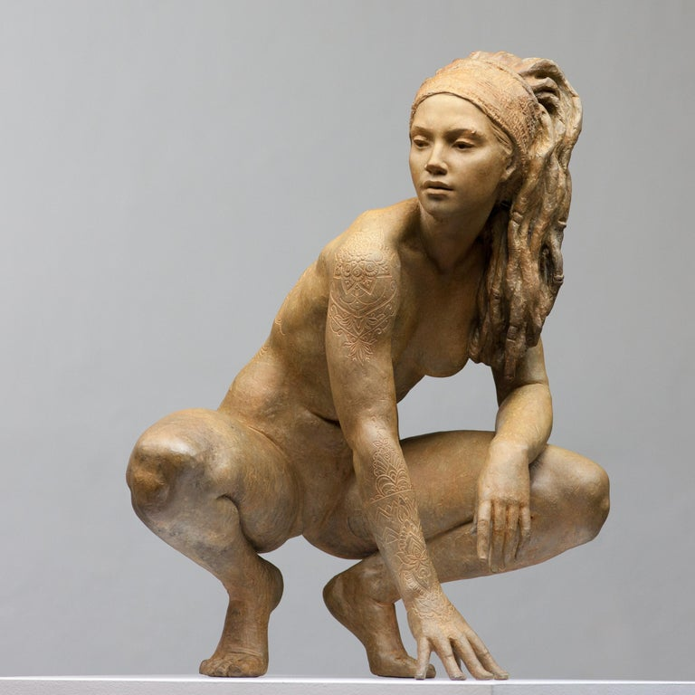 Walking in beauty, 2018 Bronze  Coderch and Malavia refers to a common project involving two Spanish sculptors, Joan Coderch and Javier Malavia. The first one is born in 1959 and studied at the Fine Arts School in Barcelona. The second one is born