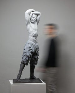 The Great Swan - Modern, 21st Century, Bronze, Figurative Sculpture