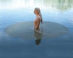 Aufgetaucht, photography, modern, 21st century, Transparent cloth