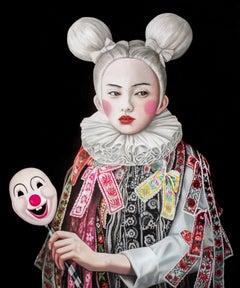 Mickey Girl, 21st century, modern,  portrait, japanese, Mickey Mouse