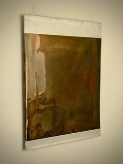 La Jolla Fields, 21st century, modern, abstract, gold