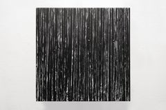Lines III, 21st century, modern abstract, black and white