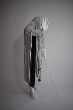 Trust, 21st century, modern, blanket, sculpture, resin, fibreglass